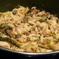 Pollo Capriccioso (kip met citroen en groenten)