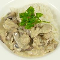 Kip-champignonragout