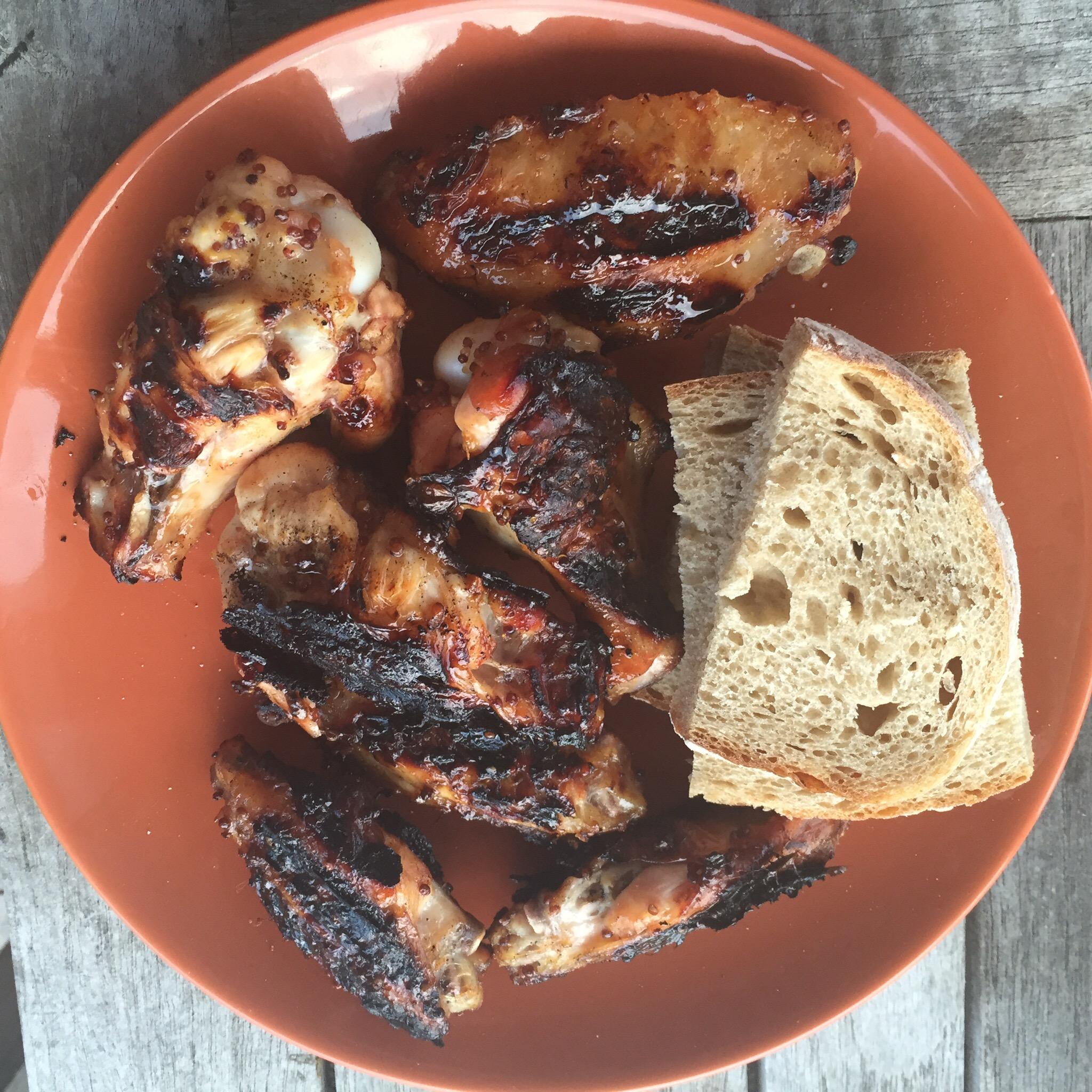 Honing-mosterd marinade voor kip
