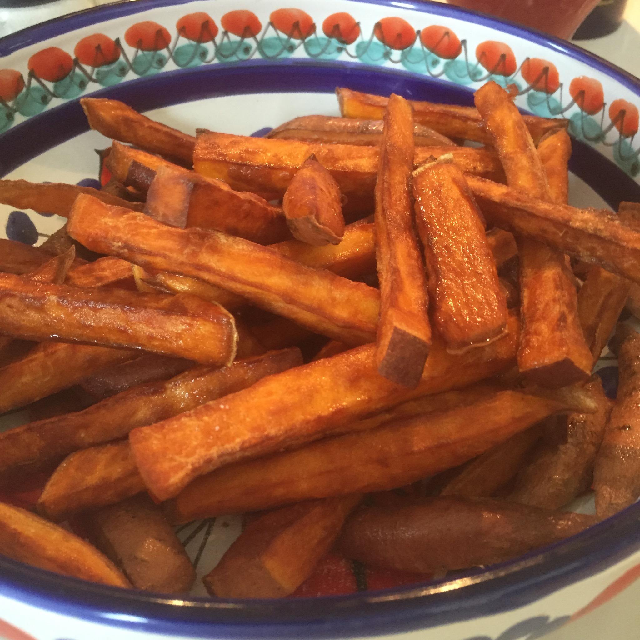 Zoete-aardappel-frieten