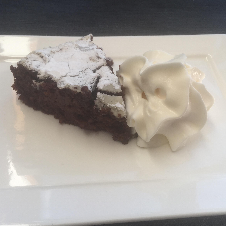 Chocolade-aardappelcake