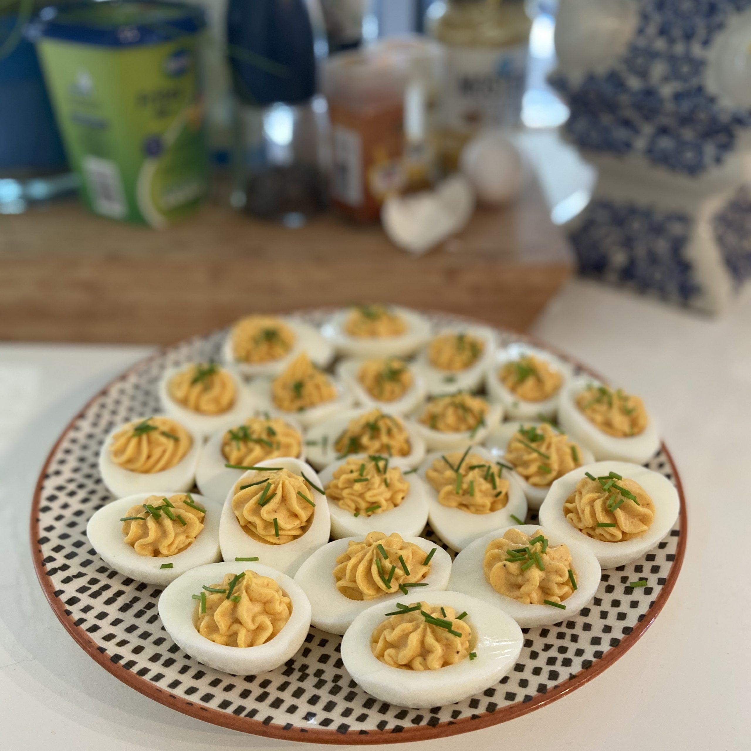 Ouderwets lekkere gevulde eitjes